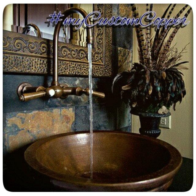 铜浴缸和水槽