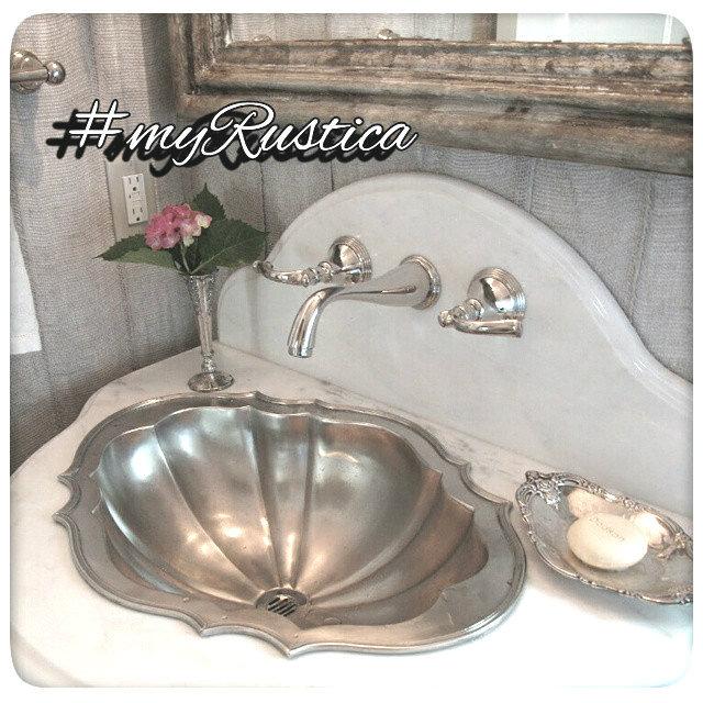 锡浴室水槽