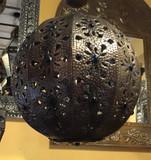 乡村金属球形吸顶灯罩