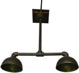 悬挂式青铜工业风格灯