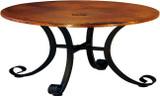 传统铜制桌子