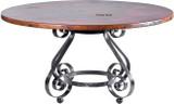 古色古香的铜桌
