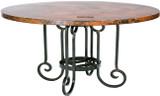 古老的欧洲铜桌