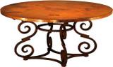 手工铜制桌子