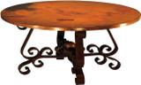 殖民地铜制餐桌