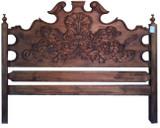 庄园木床头板