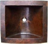 手工制作的铜棒水槽