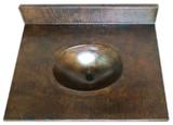 浴室铜柜台