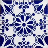 手工制作墨西哥瓷砖