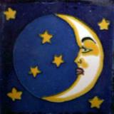 墨西哥陶瓷talavera瓷砖luna 4