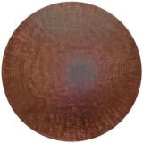 圆形铜质桌面