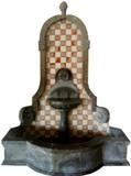 坎特拉壁式喷泉