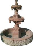 装饰石喷泉