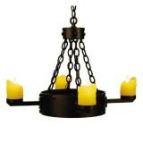 传统铁制吊灯