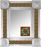 墨西哥瓷砖镜子005