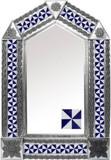 墨西哥瓷砖锡镜