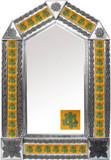墨西哥殖民地砖锡镜