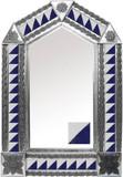 墨西哥经典殖民地砖锡镜