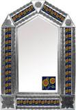 墨西哥瓜纳华托瓷砖锡镜