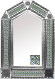 旧世界瓷砖锡镜