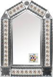 西班牙瓷砖锡镜