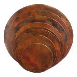 圆形铜台面