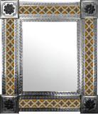 墨西哥手工瓷砖墙镜