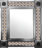 墨西哥手冲瓷砖墙镜