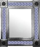 墨西哥殖民地砖墙镜