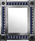 墨西哥传统瓷砖墙面镜