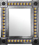 墨西哥传统瓷砖墙镜