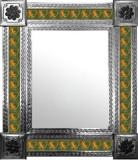 墨西哥乡村瓷砖墙镜