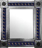 墨西哥民间艺术瓷砖墙镜