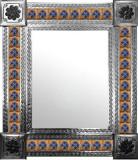 墨西哥古典殖民地砖墙镜