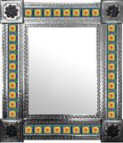 墨西哥瓜纳华托瓷砖墙镜