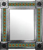 墨西哥西班牙瓷砖墙镜