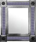 墨西哥现代瓷砖墙镜