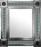 墨西哥古典瓷砖墙镜
