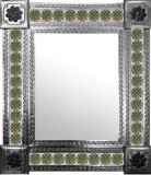 墨西哥镜与旧世界的瓷砖