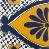 墨西哥阶梯瓦白黄蓝