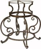 古老的欧洲锻造铁制桌子底座