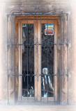 工匠精心打造的锻铁护窗