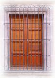 民间艺术锻造铁制护窗