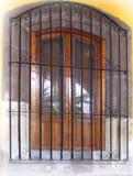 殖民地锻造铁窗护卫