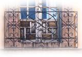 民间艺术锻铁阳台
