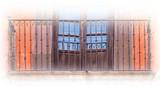 铸铁殖民地阳台