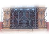 工匠锻造铁艺阳台