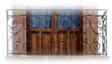 古欧式锻铁阳台