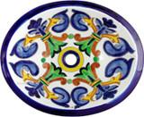 装饰性墨西哥浴室水槽。