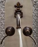 乡村浴壁青铜水龙头